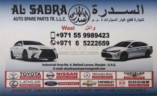 Al Sadra Auto Spare Parts TR