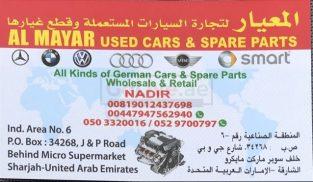 AL MAYAR USED SPARE PARTS