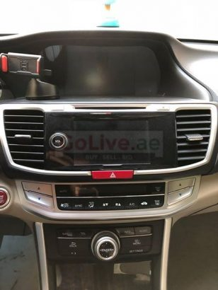 Honda Accord 2015 Model – Full Option with Sun Roof and GPS