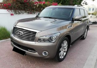 INFINITI QX80 2014,V8 400HP,4WD,TOP OF THE LINE,GCC,ACCIDENT FREE