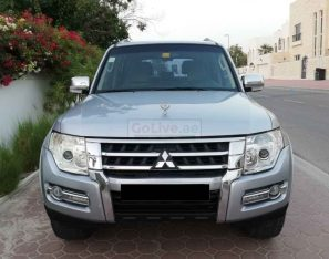MITSUBISHI PAJERO 2008 FULL OPTION,FACE LIFTED 2016,SUNROOF,LEATHER SEATS,ACCIDENT FREE