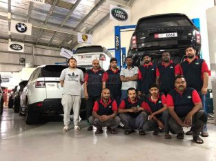 NUJOOM ALKHAN AUTO MAINTENANCE WORKSHOP SPECIALIST FOR LAND ROVER (RANGE ROVER) AND GERMAN CARS ( Auto Repair Garage in Sharjah )