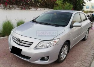 TOYOTA COROLLA XLI 1.8,2010,GCC,85000KM,LOW MILEAGE,WELL MAINTAINED