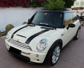 MINI COOPER S, FULL OPTION, IMPORTED, SUPER CHARGED, PANORAMIC SUNROOF, WELL MAINTAINED
