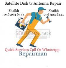 Satellite Tv Dish Airtel HD Set-up installation 0563046441 Services