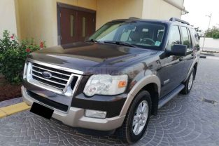 FORD EXPLORER 2008, TOP OPTION WITH SUNROOF, EDDIE BAUER, GCC,WELL MAINTAINED