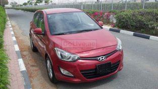 Hyundai i20 2014 model low mileage GCC in mint condition
