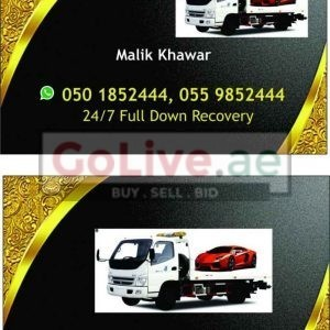 24/7 RECOVERY FULL DOWN ( Car Tow )