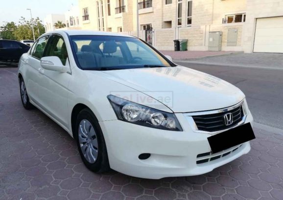 HONDA ACCORD 2008, GCC, ACCIDENT FREE, WELL MAINTAINED, SINGLE OWNER