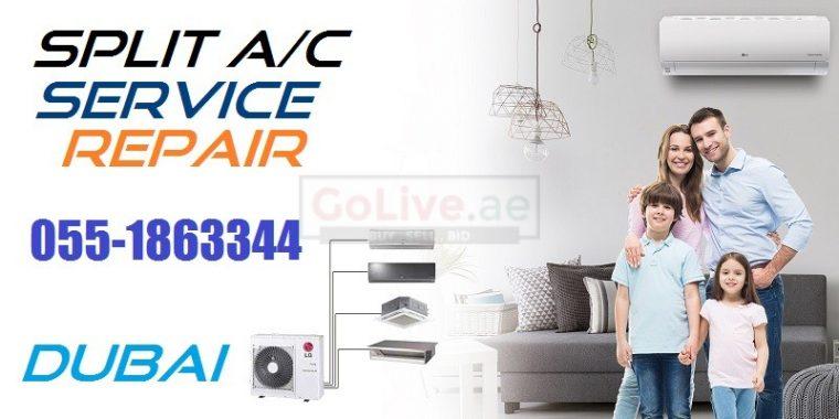 Split Air Conditioner AC Unit Service Repair Installation in Mankhool Dubai