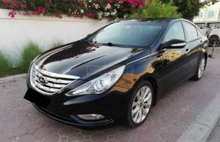 HYUNDAI SONATA 2012,GCC,NO 1 OPTION,PANORAMIC SUNROOF,LEATHER SEATS,WELL MAINTAINED
