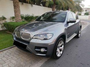 BMW X6 X-DRIVE 50i,V8 TWIN TURBO,GCC,NO 1 OPTION,ACCIDENT FREE