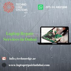 Laptop Repair Services in Dubai – Techno Edge Systems- 042513636.