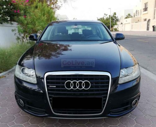 AUDI A6 2011,AGENCY MAINTAINED,GCC,TOP OF THE LINE,3.0T,S-LINE QUATTRO,SUNROOF,ACCIDENT FREE