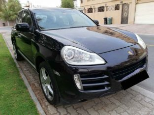 PORSCHE CAYENNE TURBO 2008,V8,TOP OPTION,PANORAMIC SUNROOF,GCC,EXCELLENT CONDITION