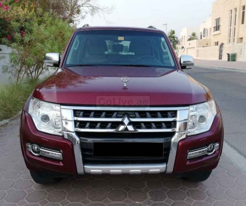 MITSUBISHI PAJERO 2017,TOP OF THE LINE,SUNROOF,LEATHER SEATS,WELL MAINTAINED