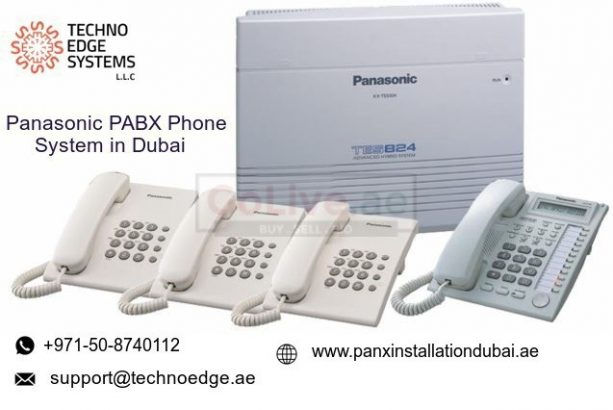 Buy Panasonic PABX Phone System in Dubai | Panasonic PBX System in UAE