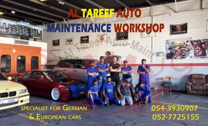 AL TAREEF AUTO MAINT EUROPEAN CAR SERVICE SHARJAH