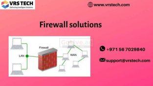 Firewall network security services | Firewall Solutions Dubai