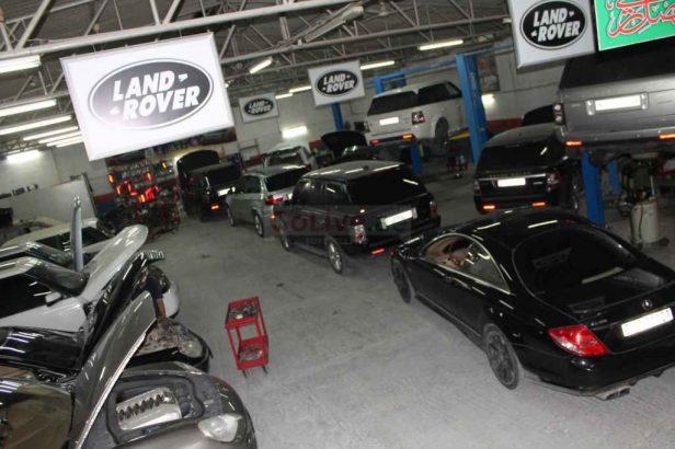 Land Rover Range Rover Cars Maintenance Workshop & Repair Service Center Sharjah