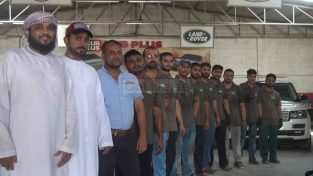 Land Rover Range Rover Jaguar Maintenance Service Center Workshop & Repair Garage Sharjah