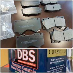 High Performance Ceramic Brake Pads