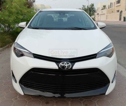 TOYOTA COROLLA 2017 LE,NO 2 OPTION,GOOD CONDITION,FRESH IMPORT