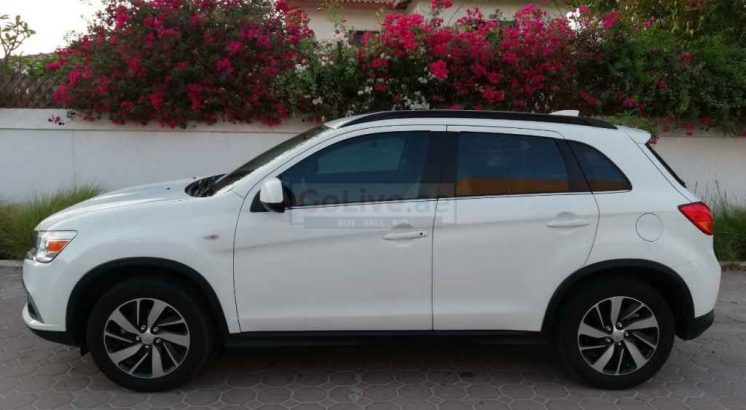 MITSUBISHI ASX 2017,GCC,37000KM ONLY,ORIGINAL PAINT,ACCIDENT FREE,SINGLE OWNER