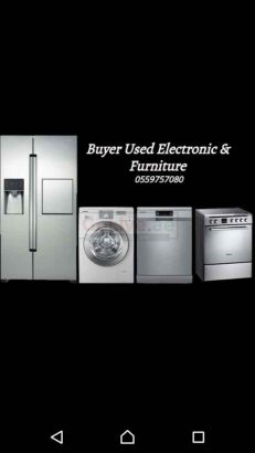 Used furniture Buyers & Electronics call 055 9757080