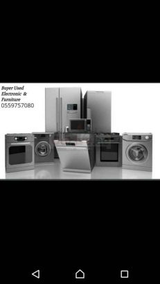 Buyers Used furniture and Electronics call 055 9757080
