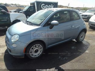 Fiat 500 2015 USA Imported for sale (Minor Damage) RTA Passing, Engine and Gear GUARANTEED