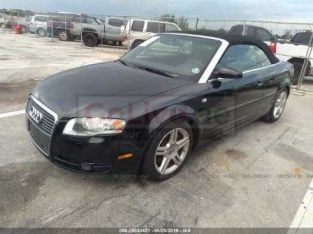 2008 AUDI ‫ A4 2.0T CABRIOLET FRESH US IMPORT FOR SALE