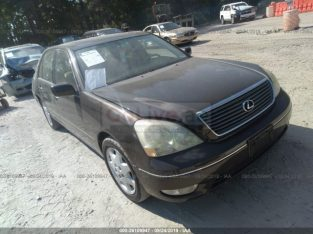 Lexus LS 430 2002 imported for sale in as is condition