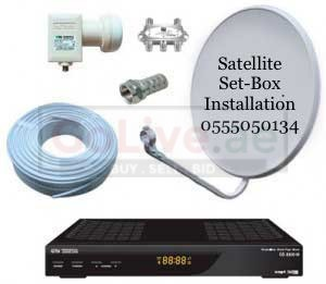 Satellite Dish Tv Repair & Installation 0555050134 in Sharjah