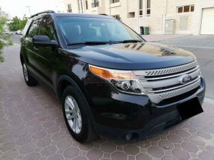 FORD EXPLORER 2013,GCC,MID OPTION,4WD,102000KM ONLY,WELL MAINTAINED
