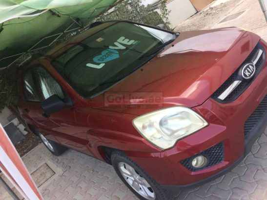 """Kia Sportage 2009 RED """"As is where is"""""""