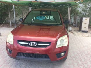 "Kia Sportage 2009 RED ""As is where is"""