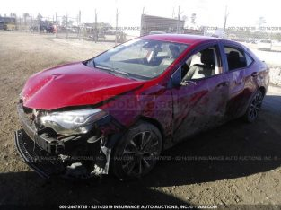 2017 TOYOTA COROLLA USA IMPORT FOR SALE