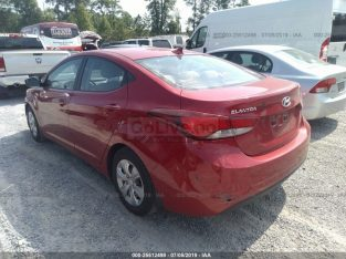 2016 HYUNDAI ELANTRA FRESH US IMPORT FOR SALE
