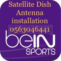 Arabsat Satellite Dish tv Repair & Services In Dubai 0563046441
