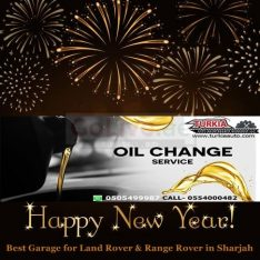 Land Rover Range Rover & German Cars Special Oil Change Offer just 300 AED at Turkia Auto Workshop