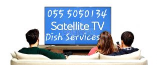 Satellite Dish tv Airtel Services & installation in Sharjah 0555050134