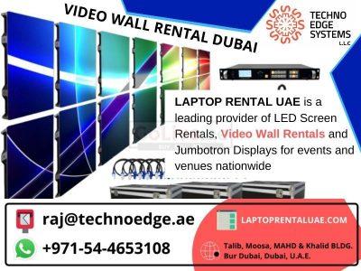 Contact @0544653108 for Video wall rental Dubai