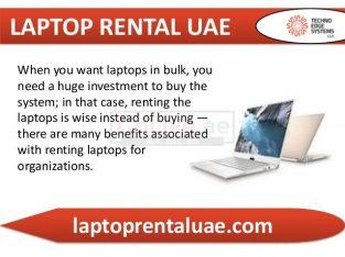 Multiple Usage Laptop rental in Dubai get in LAPTOP RENTAL UAE