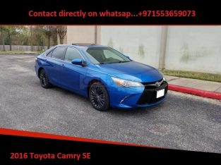 Fairly used Toyota Camry SE 2016 available