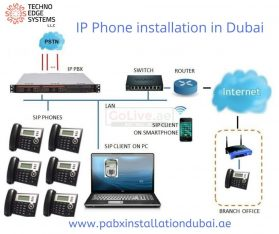 IP Phone Installation in Dubai | IP Telephone Solution in Dubai