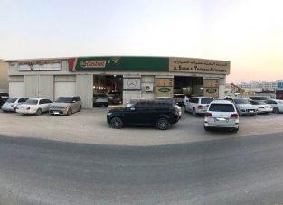 RANGE ROVER WORKSHOP AL SURAH AL THAMINAH AUTO MAINT WORKSHOP IN SHARJAH UAE