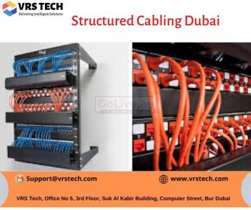 Best Structured Cabling Companies in Dubai – VRS Technologies