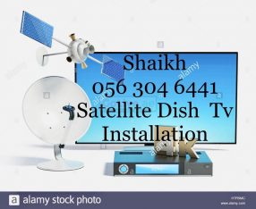 Mirdif Satellite Dish tv Services 0563046441 Installation in Dubai