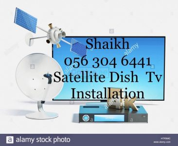 Mirdif Satellite Dish tv Services 0563046441 Installation in Dubai